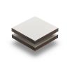 Cremeweiß (RAL 9001) Struktur HPL Platte 6 mm