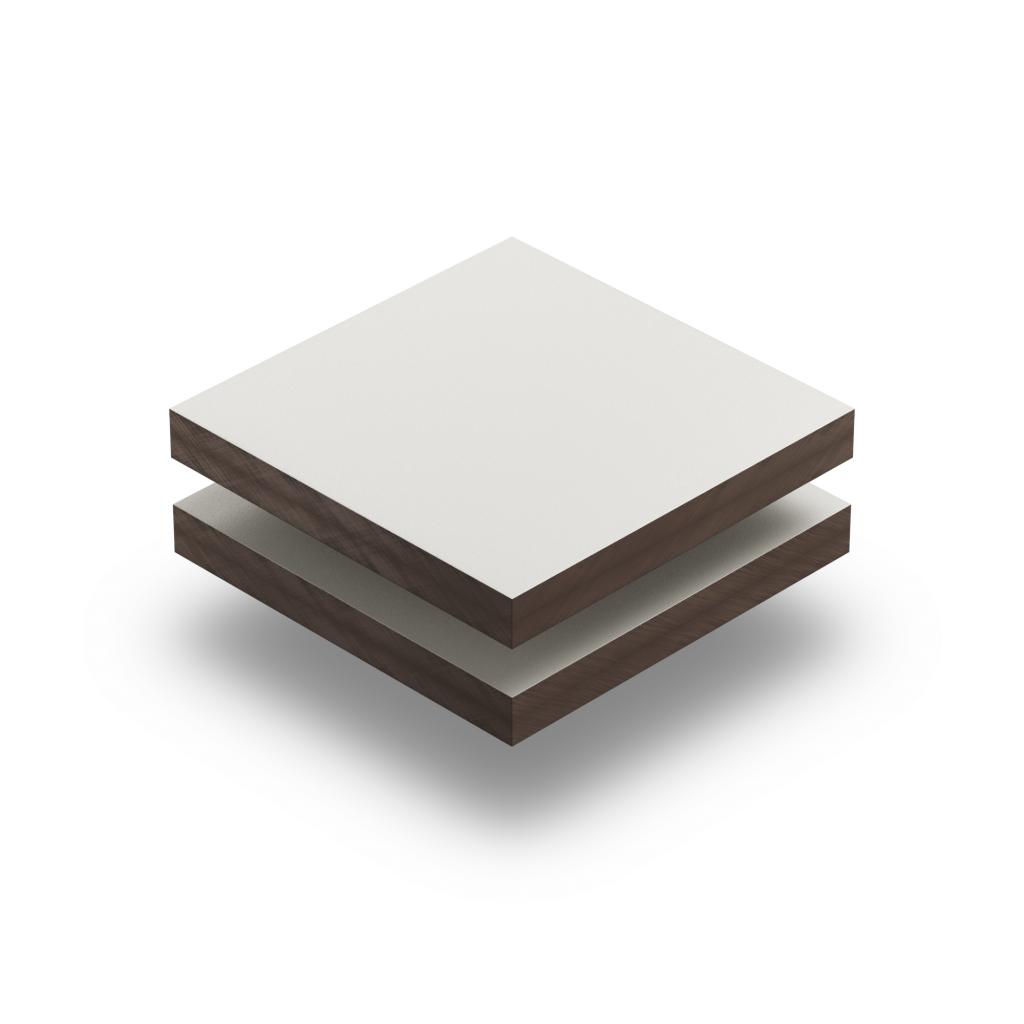 Cremeweiss RAL 9001 Struktur HPL Platte
