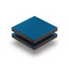 Enzianblau RAL 5010 Struktur HPL platte