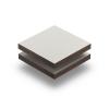 Hellelfenbein (RAL 1015) Struktur HPL Platte 6 mm