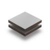 Hellgrau (RAL 7035) Struktur HPL Platte 6 mm