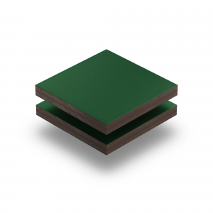 Moosgruen RAL 6005 Struktur HPL Platte