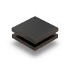 Schwarz (RAL 9005) Struktur HPL Platte 6 mm