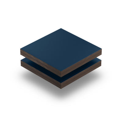 Stahlblau RAL 5011 Struktur HPL Platte