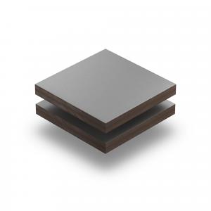Staubgrau RAL 7037 Struktur HPL Platte