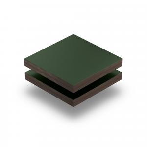 Tannengruen RAL 6009 Struktur HPL Platte