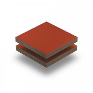 Korallenrot RAL 3016 Struktur HPL Platte