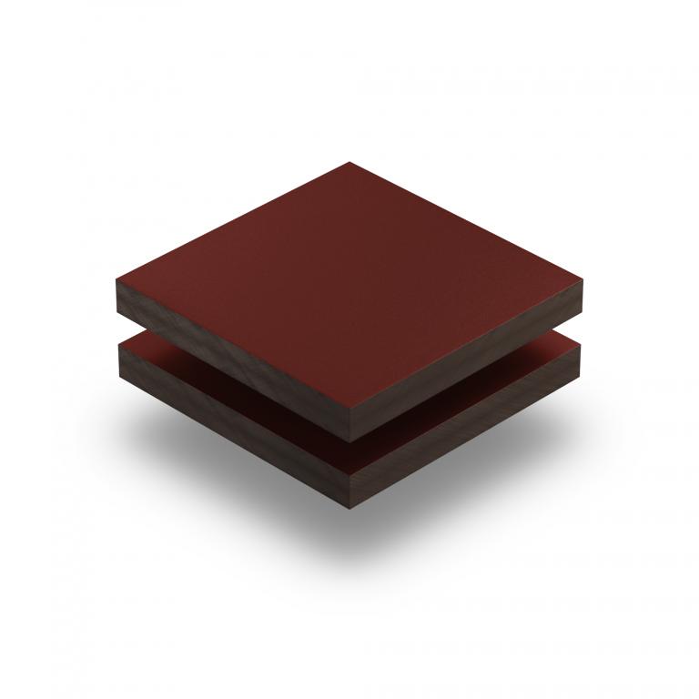 Weinrot RAL 3005 Struktur HPL Platte